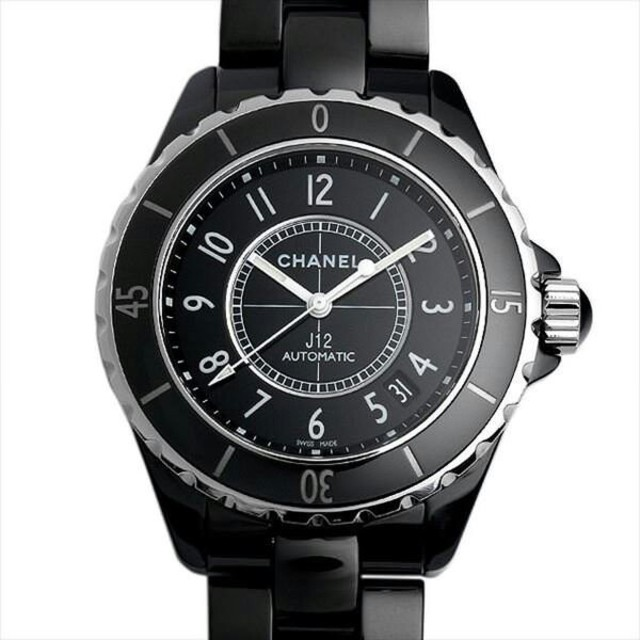 CHANEL - J12 黒セラミック H0685 新品 メンズ 腕時計の通販 by jic241cjiascn's shop|シャネルならラクマ