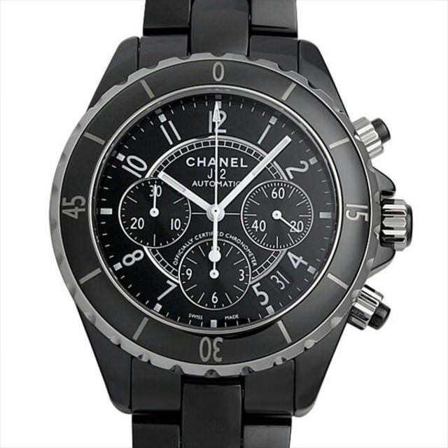 CHANEL - J12 クロノグラフ 黒セラミック H0940 新品 メンズ 腕時計の通販 by jic241cjiascn's shop|シャネルならラクマ