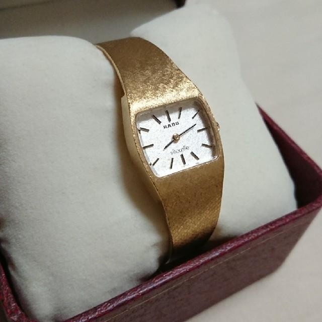 RADO - RADO アンティーク腕時計 一体型ブレスレット の通販 by メープル's shop|ラドーならラクマ