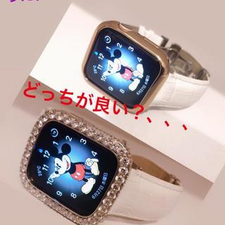 アップルウォッチ(Apple Watch)のアップウォッチ4!44mm。ピンクゴールド(腕時計(デジタル))