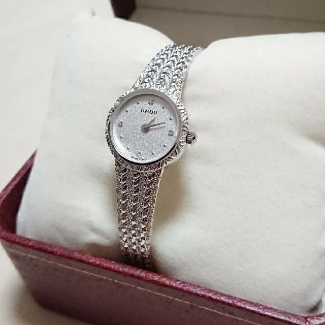 RADO - 美品 RADO レディース腕時計の通販 by メープル's shop|ラドーならラクマ