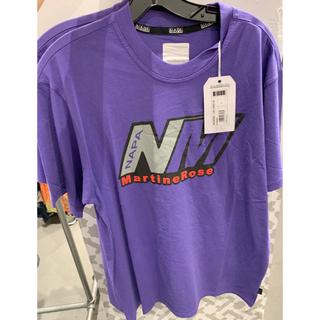 ナパピリ(NAPAPIJRI)のnapa by martine rose Tシャツ 紫 パープル(Tシャツ/カットソー(半袖/袖なし))