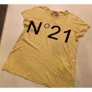 ヌメロヴェントゥーノ(N°21)のヌメロヴェントゥーノ N21 トップス(Tシャツ(半袖/袖なし))
