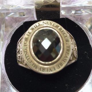 ドクターモンロー(Dr.MONROE)のDr Monroe ドクターモンロー カレッジリング シルバー メンズ(リング(指輪))