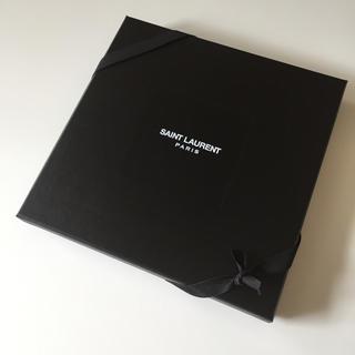 サンローラン(Saint Laurent)のSAINT LAURENT 空箱 りぼん 包装紙(ラッピング/包装)