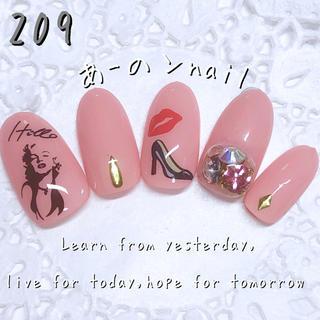 送料&カラー変更1色無料«209»ジェルネイルチップ♡*.(つけ爪/ネイルチップ)