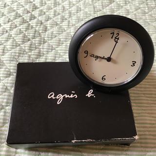 アニエスベー(agnes b.)の値下げ アニエス・ベー 目覚まし時計(置時計)