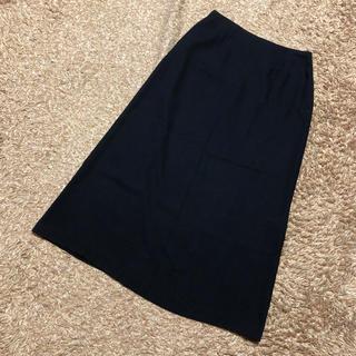 シビラ(Sybilla)の値下げ交渉OK シビラ ロングスカート Mサイズ ブラック 薄手(ロングスカート)