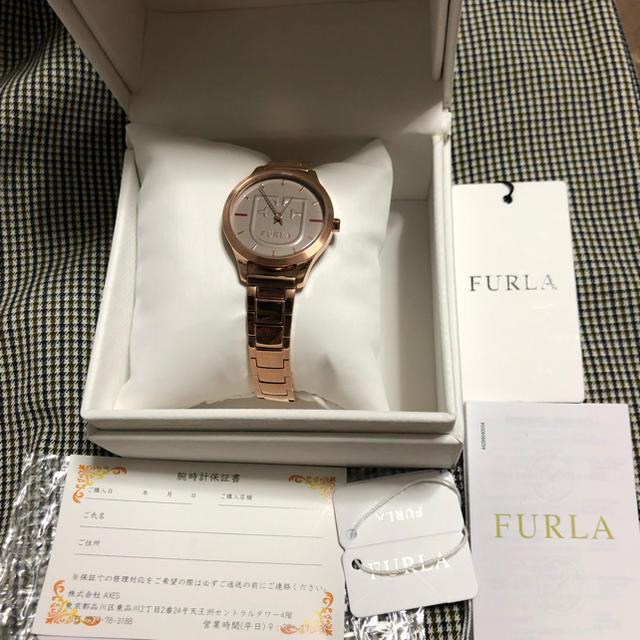 Furla(フルラ)のくるみさまご専用 新品未使用❗️フルラ腕時計 レディースのファッション小物(腕時計)の商品写真