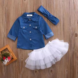 韓国子供服 セットアップ (ワンピース)