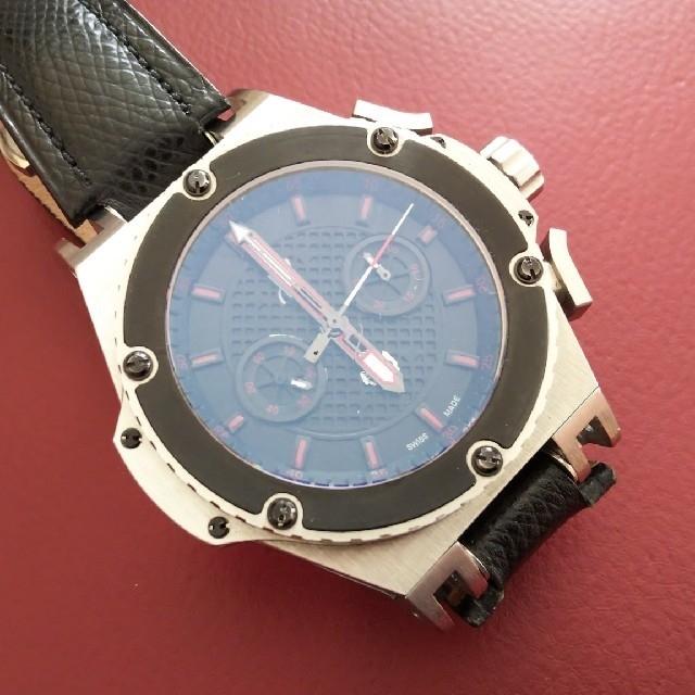 高級カスタム 自動巻 ストップウォッチ機能付 クロノグラフ 腕 時計の通販 by ラン's shop|ラクマ
