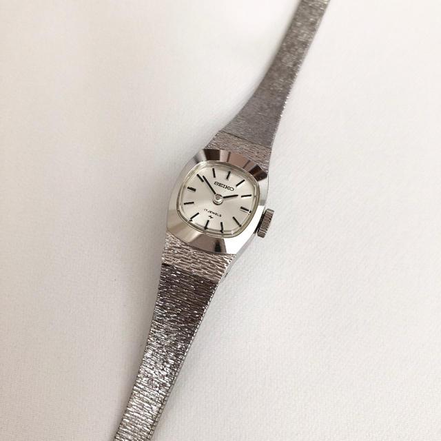 SEIKO - ビンテージ SEIKO 17石 WGPレディース手巻き腕時計 稼動品の通販 by じゅん's shop|セイコーならラクマ