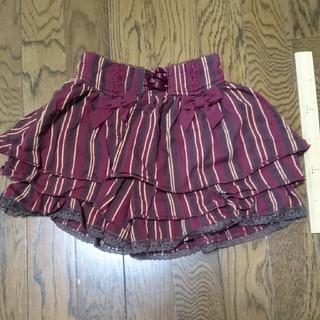 アクシーズファム(axes femme)の110cmスカート風パンツ(パンツ/スパッツ)