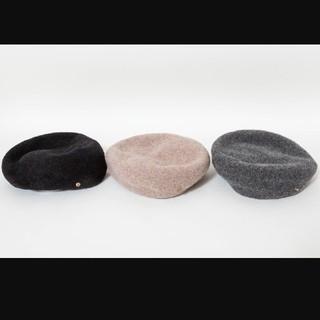 しまむら - 【新品】プチプラのあや ベレー帽 ブラック
