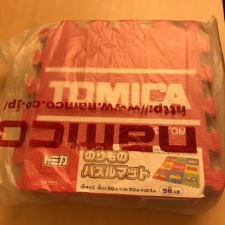 タカラトミー(Takara Tomy)の【値下げ】トミカのりものパズルマット(フロアマット)