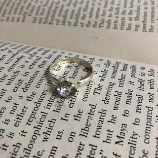 ★156 サイズ19号 モチーフビンテージリング(リング(指輪))