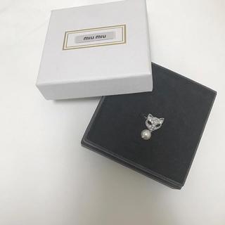 ミュウミュウ(miumiu)のmiumiu 指輪 正規品(リング(指輪))