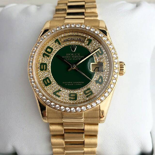 ROLEX - ロレックス 118348ZEA デイデイト 腕时計の通販 by ヨウコ's shop|ロレックスならラクマ