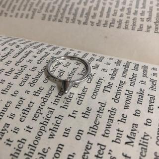 ★159 サイズ14号 ビンテージシルバーリング(リング(指輪))