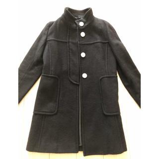 ティアラ(tiara)のTiara コート 黒 ブラック(ロングコート)