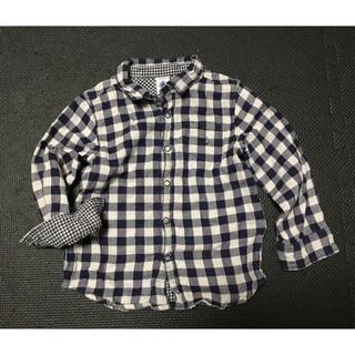 プチバトー(PETIT BATEAU)のあさ様専用 プチバトーチェックシャツ(ブラウス)