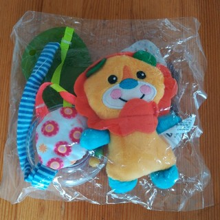 サッシー(Sassy)のオススメ!【新品・未使用】赤ちゃん おもちゃ 歯固め ラトル ぬいぐるみ (がらがら/ラトル)