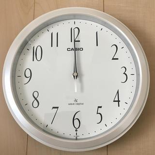カシオ(CASIO)の[新品]CASIO 壁掛け電波時計(掛時計/柱時計)