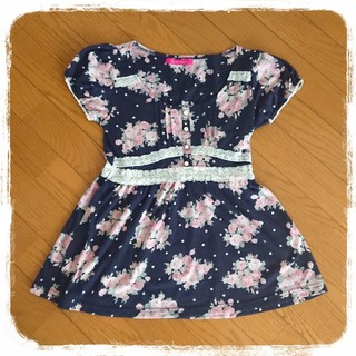 ピンキーガールズ(PinkyGirls)の美品 Pinky Girls☆ペプラムチュニック(Tシャツ(半袖/袖なし))