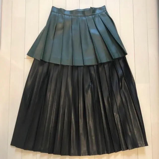 トーガ(TOGA)のCAT COPY プリーツスカート 入手困難(ロングスカート)