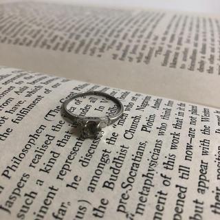 ★171 サイズ18号 シルバー925 刻印有り ビンテージリング(リング(指輪))