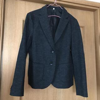 ムジルシリョウヒン(MUJI (無印良品))の無印良品 グレー ウールジャケット(テーラードジャケット)