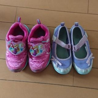 17センチ 両方上履き使用の靴セット