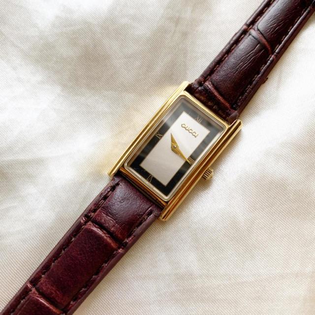 Gucci - 稼働品 美品!グッチ!レディース腕時計の通販 by BF_大幅値下げ不可!|グッチならラクマ