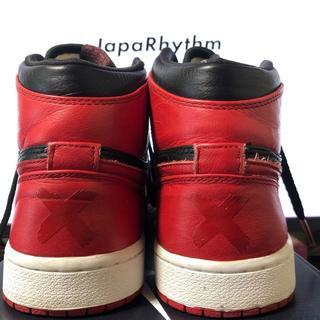ナイキ(NIKE)のJordan 1 Retro Banned BRED 2011(スニーカー)