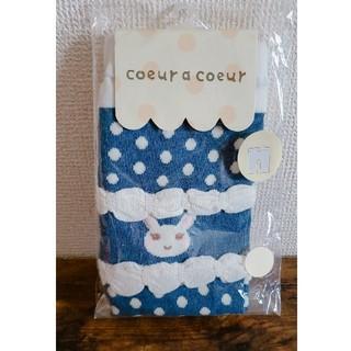 クーラクール(coeur a coeur)のクーラクール  七分丈スパッツ 70-90 ネイビー   (靴下/タイツ)