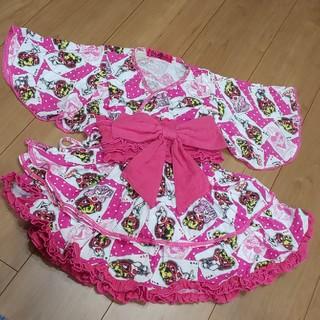 ヒステリックミニ(HYSTERIC MINI)のヒスミニ 浴衣 120(甚平/浴衣)