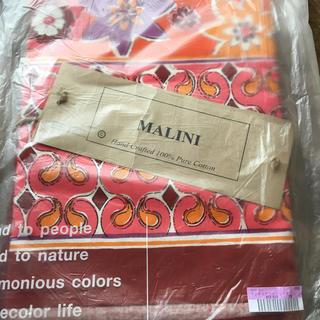 フェリシモ(FELISSIMO)のMALINI インド綿ファブリックカバー(シーツ/カバー)