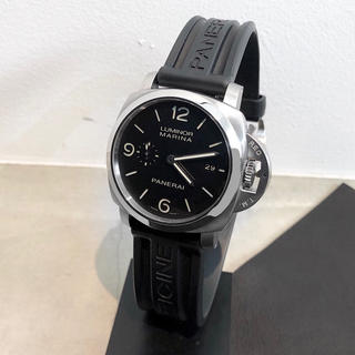 quality design 9183e 47d61 【保証書付/仕上済】パネライ PAM00312 ルミノールマリーナ メンズ腕時計