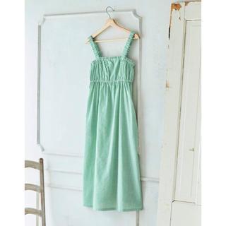 une nana cool - unenanacool 綿100%ワンピース  green