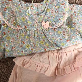 パコラバンヌ(paco rabanne)のpacorabanne 夏ベビー服セット(ワンピース)