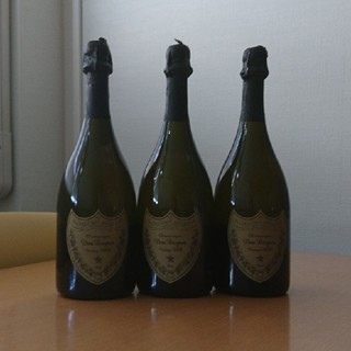 ドンペリニヨン(Dom Pérignon)のドン・ペリニヨン③+④+⑤(3本セット)(シャンパン/スパークリングワイン)