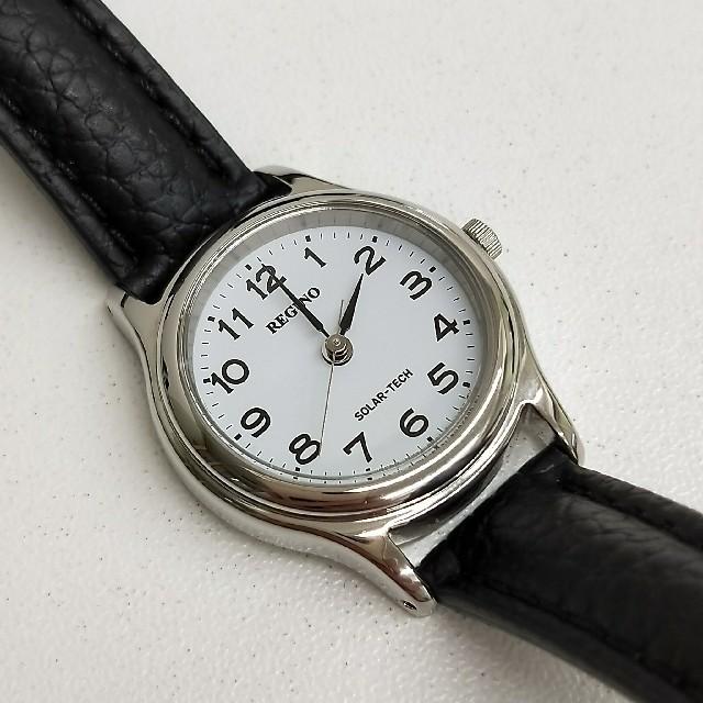 CITIZEN - CITIZEN 腕時計 REGUNO レグノ ソーラーテック スタンダードモデルの通販 by Floyd's shop|シチズンならラクマ