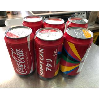 コカコーラ(コカ・コーラ)のコカコーラ ハッピー缶 アタリ イヤホン ヘッドホン スピーカー 非売品(ノベルティグッズ)