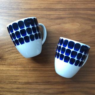 アラビア(ARABIA)の【新品、未使用】アラビア トゥオキオ マグカップ 2個(グラス/カップ)