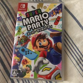 ニンテンドースイッチ(Nintendo Switch)のスーパーマリオパーティ  Switch(携帯用ゲームソフト)