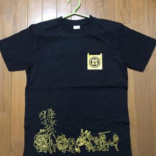モモイロクローバーゼット(ももいろクローバーZ)の【値下げ】ももいろクローバーZ 2016桃神祭 鬼ヶ島Tシャツ(箱推し黒)(Tシャツ(半袖/袖なし))