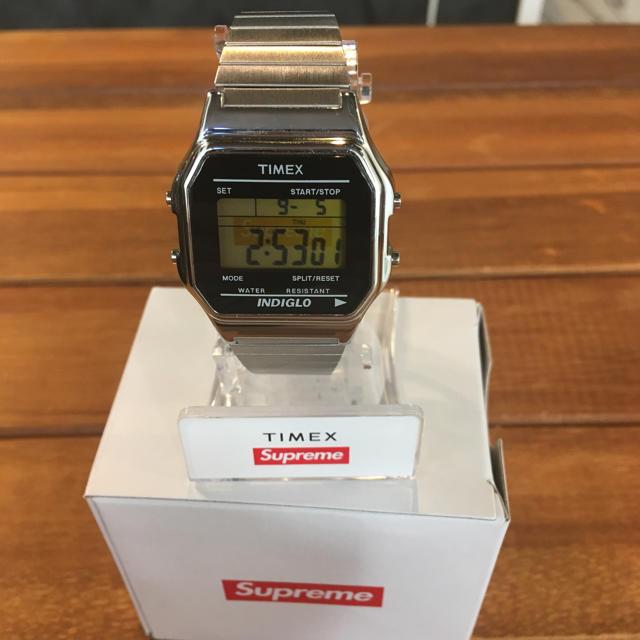 Supreme - Supreme Timex Digital Watch シルバーの通販 by らくすけ's shop|シュプリームならラクマ