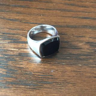 マルタンマルジェラ(Maison Martin Margiela)のトムウッド オニキス リング 新品(リング(指輪))