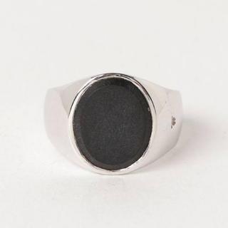 マルタンマルジェラ(Maison Martin Margiela)のトムウッド オニキス リング(リング(指輪))