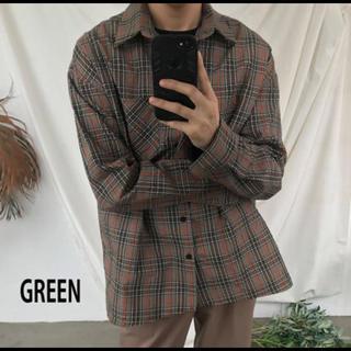 バレンシアガ(Balenciaga)のASCLO チェックシャツ(シャツ)